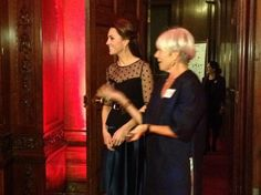 The Duchess of Cambridge arrives at the #Place2beAwards, held in the Kensington Palace State Apartments