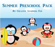 Summer Preschool Pack (from Creative Learning Fun)