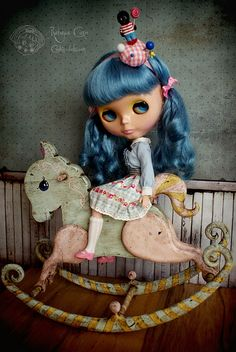 Little horse by Rebeca Cano ~ Cookie dolls https://www.facebook.com/CookieDolls