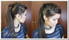 X Factor Ponytail from Just Bebexo.