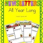 $Editable Newsletters (now in Powerpoint AND Word) are a fantastic way to keep your parents informed on a weekly or monthly basis. This set include...