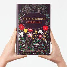 Дизайн на книгата: Илюстрации и корици . Book cover design  of Cryesrs Hill by Kitty Aldridge