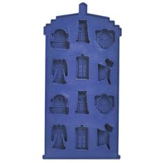 Doctor Who TARDIS Chocolate Mold $7.89.  Now everyone knows what to get me for my birthday...