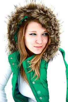 winter senior picture - Google Search