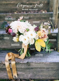 Organic Fall bridal bouquet | Flowers by Philosophy Flowers | Photo by Sara Logan Photography | Read more - http://www.100layercake.com/blog/?p=68515