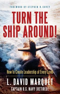 Availability: 130.157.138.11/... Turn the Ship Around!: A True Story of Turning Followers into Leaders - L. David Marquet (Author) Turn the Ship Around! is the true story of how the Santa Fe skyrocketed from worst to first in the fleet by challenging the U.S. Navy's traditional leader-follower approach. Struggling against his own instincts to take control, he instead achieved the vastly more powerful model of giving control.