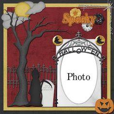 Scrapbooking TammyTags -- TT - Designer - Callaluna Creations, TT - Item - Quick Page, TT - Theme - Halloween