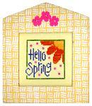 Hello Spring - free Lizzie  Kate patterns