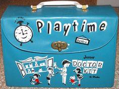 HASBRO: 1960s Playtime Junior Doctor Kit #Vintage #Toys