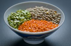 Lentils and Peas. Another g tube recipe to try.