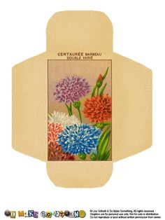 Go Make Something » Seed Packets