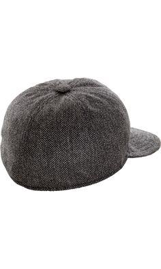 Borsalino Herringbone Baseball Cap