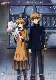 "Sakura and Syoaran from ""Tsubasa Reservoir Chronicle"" by CLAMP"