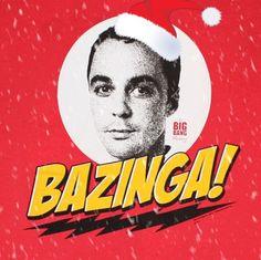 Big Bang Theory the best christmas card! Lol