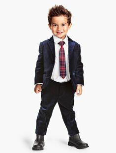 Adorable boy's look at H&M - blazer is under $30!