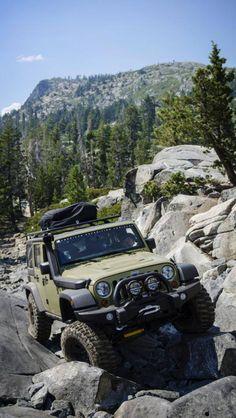 AEV JK on the Rubicon Trail