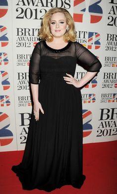 Adele no Brit Awards.
