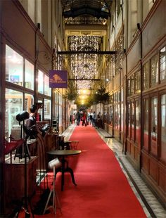 Le Passage du Grand Cerf, one of the most beautiful shopping arcade in Paris