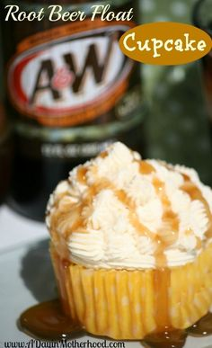 Root beer float cupc