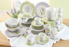 Porzellan-Serie, »Lavendel« im Online Shop von QUELLE Versand
