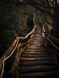 stairs on the path