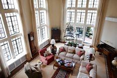 Living room area, Tudor City Place, New York.
