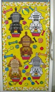 Dog Grammar and Parts of Speech Classroom Bulletin Board Display