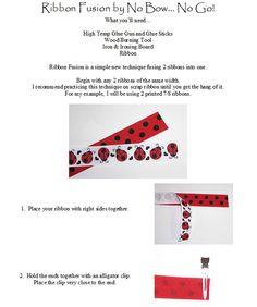 Free Instructions - Ribbon Fusion