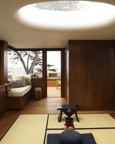 Carmel Residence / Dirk Denison Architects #skylight