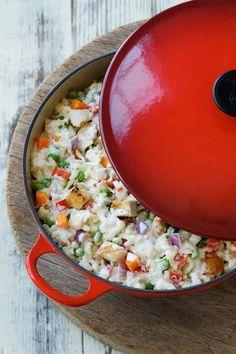 Brown Rice and Turkey Casserole Recipe | Hidden Valley®