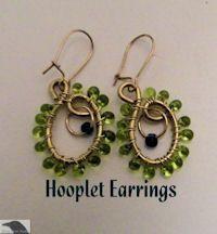 Hooplet Earrings Pattern