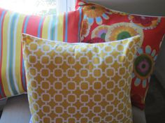 PICK TWO  Indoor/Outdoor Fabric Pillow Covers  by BristowTreasures, $60.00
