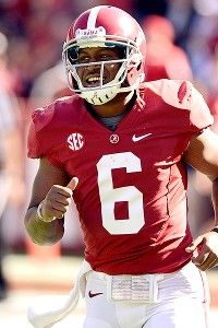 Blake Sims looks like the top QB pick out of spring training to replace A.J. McCarron at the helm of the Tide's Offense. ~ Check this out too ~ RollTideWarEagle.com sports stories that inform and entertain and Train Deck to learn the rules of the game you love. #Collegefootball Let us know what you think. #Alabama #RollTide