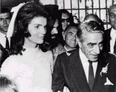 On October 20, 1968, she married Aristotle Onassis.