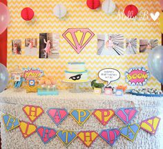 super hero, girl parties, birthday parties, 5th birthday, superhero party, superhero birthday party, girl power, parti idea, super girls