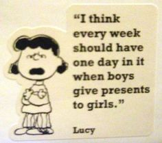 Lucy is ALWAYS right