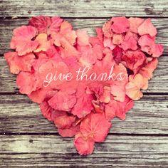 Give Thanks. | Tiaandtameraofficial.com