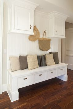 Mud Room - Built-in bench & storage.