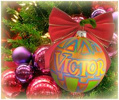 """""""Victor"""" Ornament / Christmas Ornament / Days of our Lives / #DAYS"""