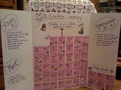 family Lenten Countdown....