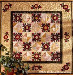 . autumn, color, quilt patterns, wall quilts, photo galleri, roses, appliqué quilt, appliques, flower quilts