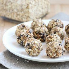 No Bake Almond Joy Energy Balls {vegan, gluten-free & refined sugar-free} - Potluck at Oh My Veggies