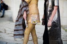 #Chanel bag #fur #co