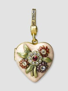 Jay Strongwater Breast Cancer Research Foundation Locket at Saks