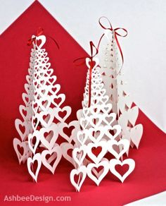 Valentine Heart Tree Tutorial