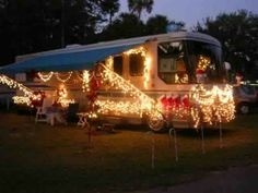 Decorating Your RV for Christmas | Woodall's Campgrounds, RV Blog and Family Camping Blog