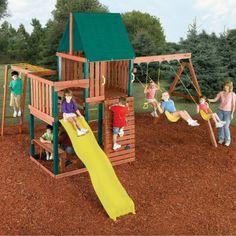 Swing-N-Slide Chesapeake Wood Swing Set