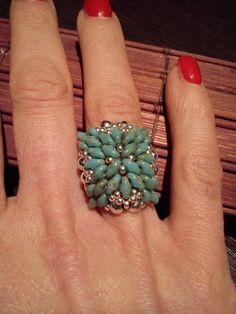 """Tutorial perline anello"""" Grace"""""""