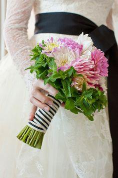 pink flowers wedding bouquet ideas