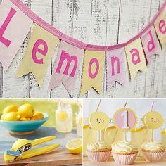 Lemonade-Themed Kid Finds